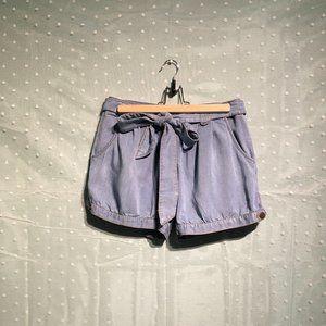 H&M light blue denim shorts